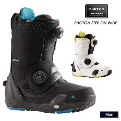 早期予約 21-22 2022 BURTON バートン PHOTON STEP ON WIDE フォトンステップオンワイド スノーボード ブーツ メンズ