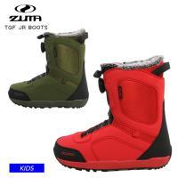 早期予約 21-22 ZUMA ツマ キッズ ブーツ TGF JR BOOTS ダイヤル式 スノーブーツ スノーボード ジュニア ユース