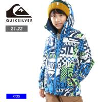 早期予約 21-22 QUIKSILVER クイックシルバー MISSION PRINTED YOUTH JK ジャケット スノーボード キッズ