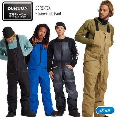 20-21 BURTON バートン GORE-TEX Reserve Bib Pant ゴアテックス リザーブビブパンツ 男性用 スノーボード ウエア スノボー