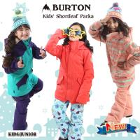 20-21 BURTON バートン キッズ ウェアKids' Shortleaf Parka ジャケット スノーウェア スノーボード スキー 子供 ガールズ【JSBCスノータウン】