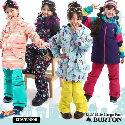 20-21 BURTON バートン キッズ ウェア Kids' Elite Cargo Pant パンツ スノーウェア スノーボード スキー 子供 ガールズ【JSBCスノータウン】