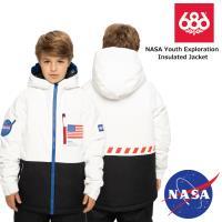 20-21 2021 686 シックスエイトシックス BOYS NASA Youth Exploration Insulated Jacket ジャケット スノーボード スノーウェア 子供用【JSBCスノータウン】