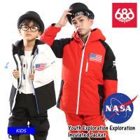 【早期予約販売】21-22 686 シックスエイトシックス Youth Exploration Exploration Insulated Jacket ジャケット スノーボード