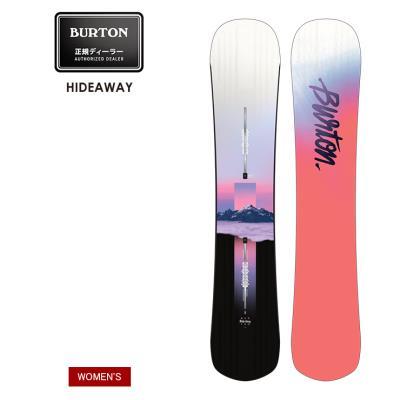 早期予約 21-22 2022 BURTON バートン HIDEAWAY ハイドアウェイ スノーボード 板 ウーメンズ