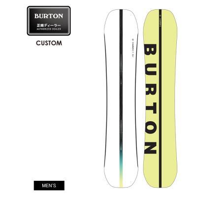 早期予約 21-22 2022 BURTON バートン CUSTOM カスタム キャンバー スノーボード 板 メンズ
