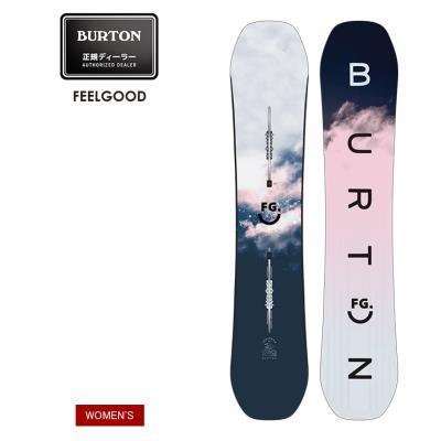 早期予約 21-22 2022 BURTON バートン FEELGOOD フィールグッド キャンバー スノーボード 板 ウーメンズ