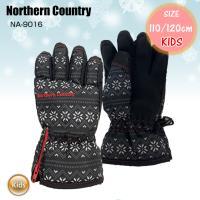 KIDS GLOVE グローブ NA-9016 キッズ ジュニア スノーボード スキー 防寒 雪遊び 子ども用 中綿入り キッズグローブ