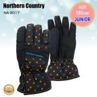 JUNIOR GLOVE グローブ NA-9017 キッズ ジュニア スノーボード スキー 防寒 雪遊び 子ども用 中綿入り ジュニアグローブ