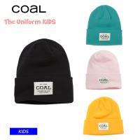 21-22 COAL コール THE UNIFORM KIDS ビーニー ニット帽
