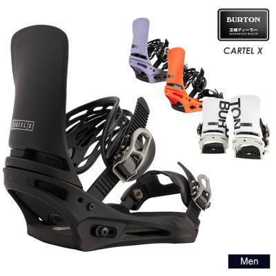 早期予約 21-22 2022 BURTON バートン CARTEL X カーテル スノーボード ビンディング バインディング メンズ